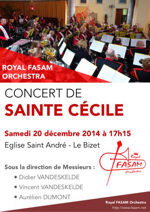 Sainte Cécile 2014